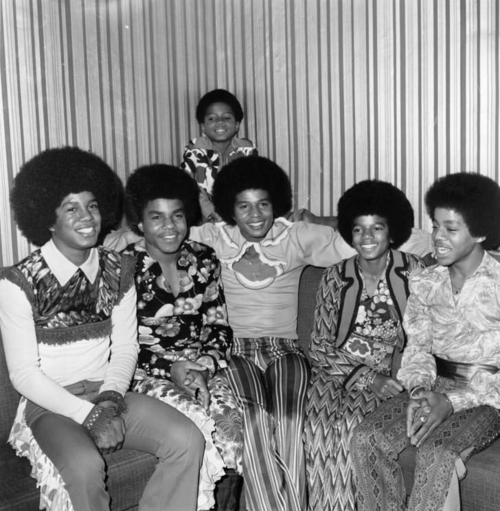 Jermaine, Tito, Jackie, Michael, and Marlon Jackson