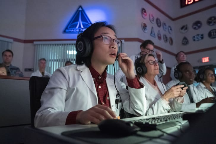 Jimmy O. Yang in Space Force