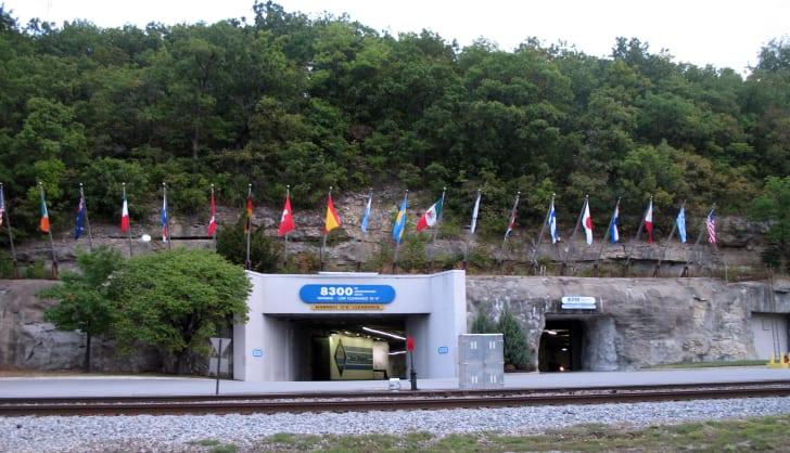 The entrance to SubTropolis