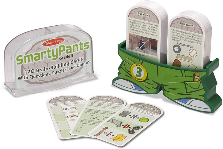 Smarty Pants flash cards from Melissa & Doug.