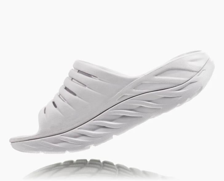 Slippers from Hoka ONE ONE.