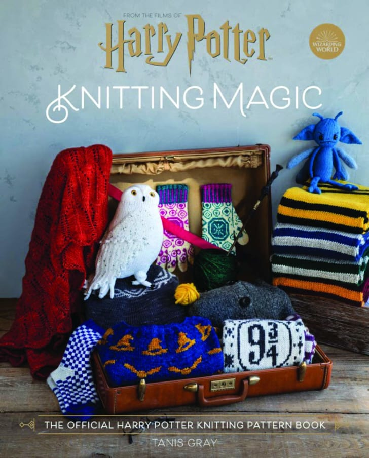 Harry Potter Knitting Book on Amazon.