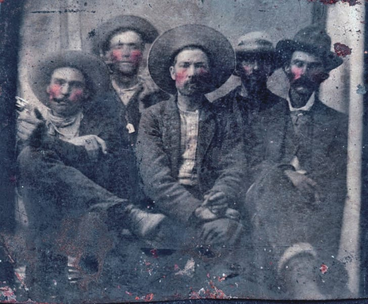 A photograph of Billy the Kid.