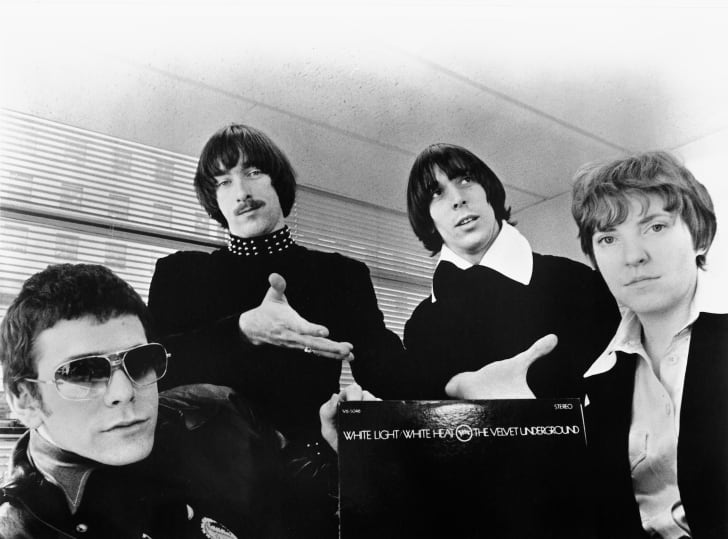 A portrait of the band Velvet Underground.