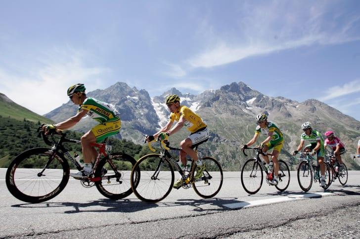Floyd Landis at the Tour de France.