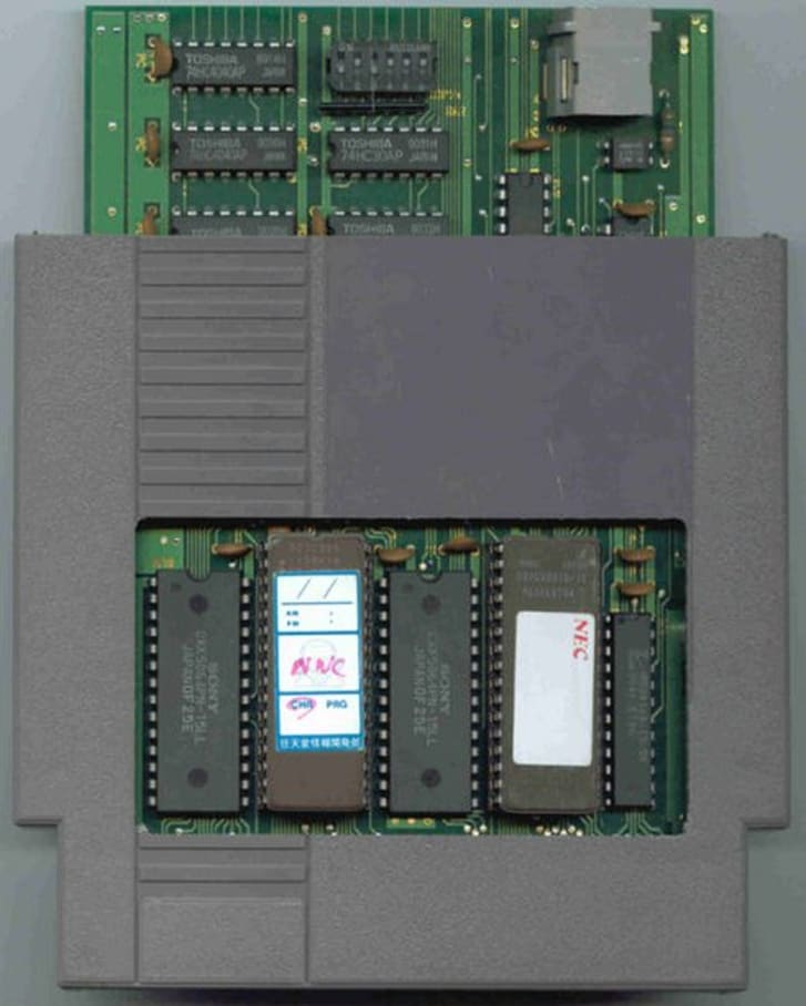 A 1991 Nintendo Campus Challenge cartridge.