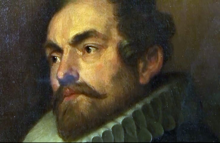 A painting by Anony Van Dyck.
