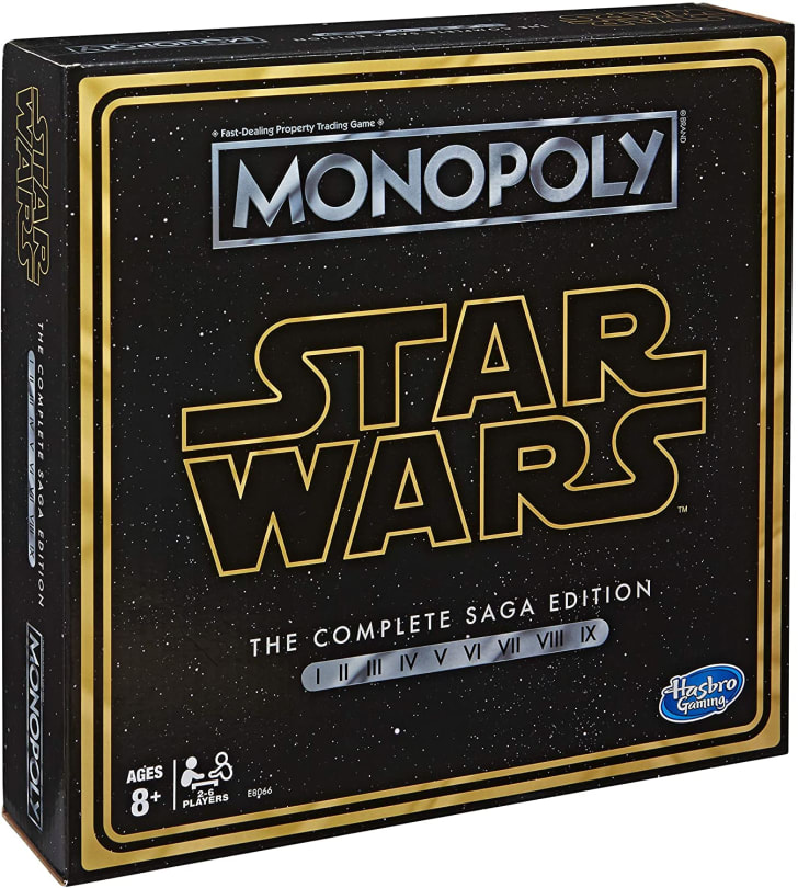 Star Wars Monopoly.