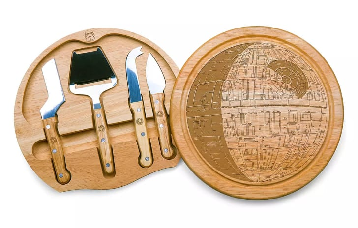 Death Star Cheese Board.