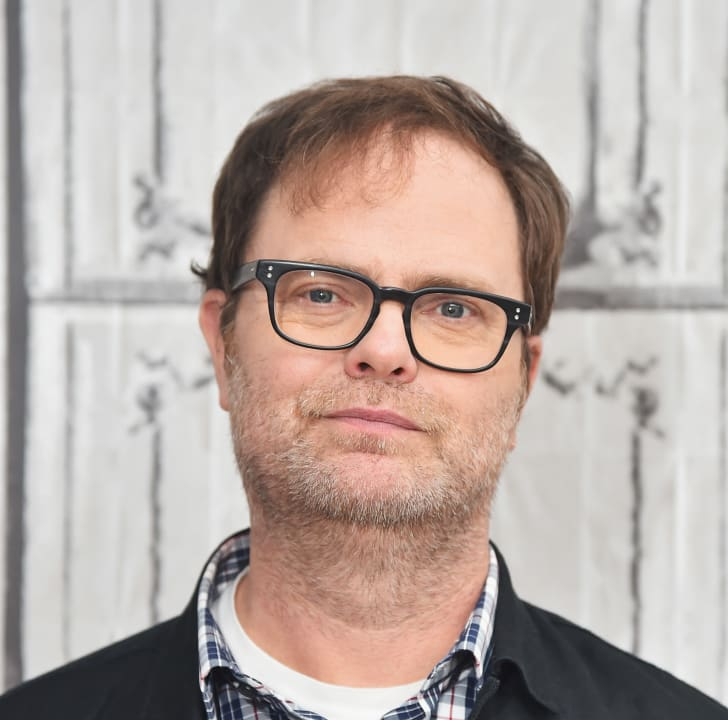 "Actor Rainn Wilson attends the AOL BUILD Speaker Series: ""The Bassoon King: My Life in Art, Faith, and Idiocy"" at AOL Studios In New York on November 9, 2015 in New York City."