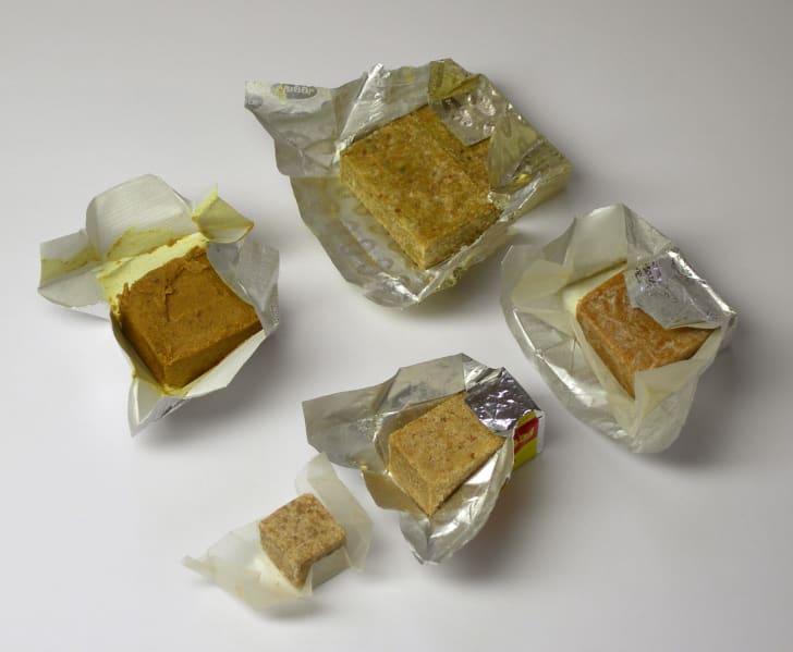 Various stock cubes