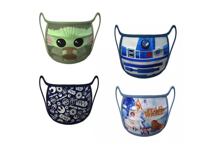 Disney Star Wars Face Masks.