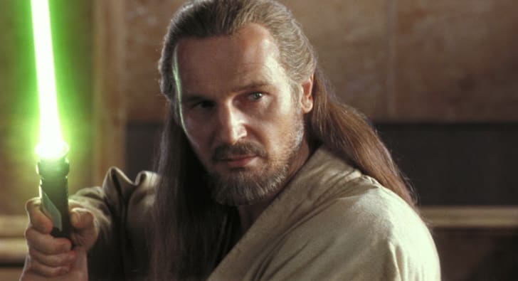 Liam Neeson in Star Wars: Episode I - The Phantom Menace (1999)