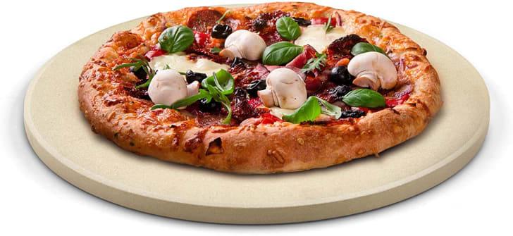 Pizza stone sold on Amazon.