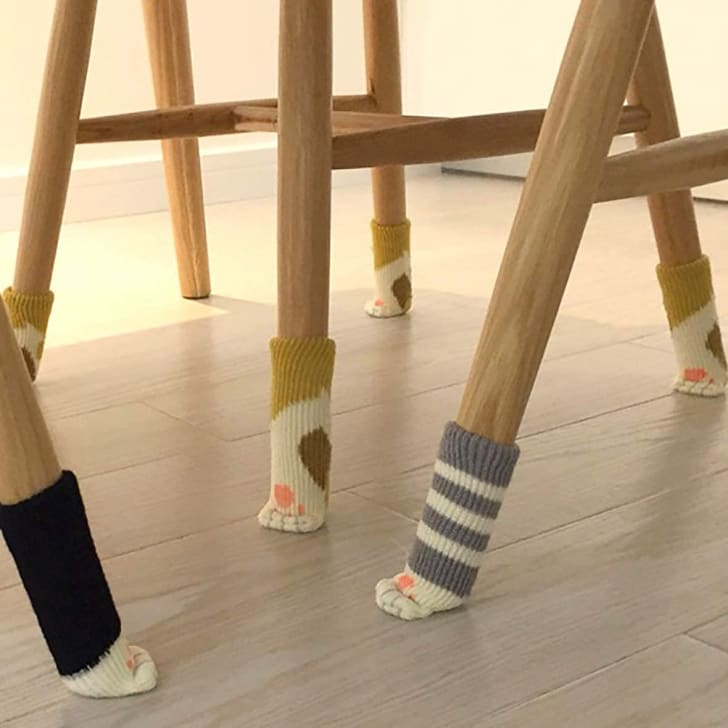 Chair socks on Amazon.