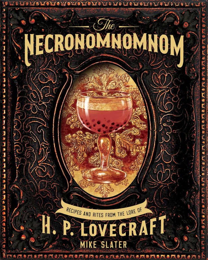 A cookbook called 'The Necronomnomnom: Recipes and Rites from the Lore of H. P. Lovecraft.'