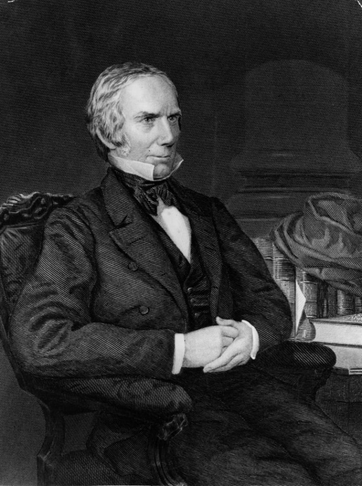 A portrait of Kentucky Senator Henry Clay