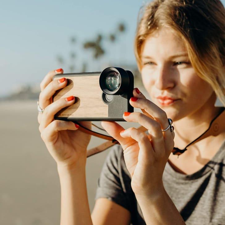 Moment smartphone camera lens.