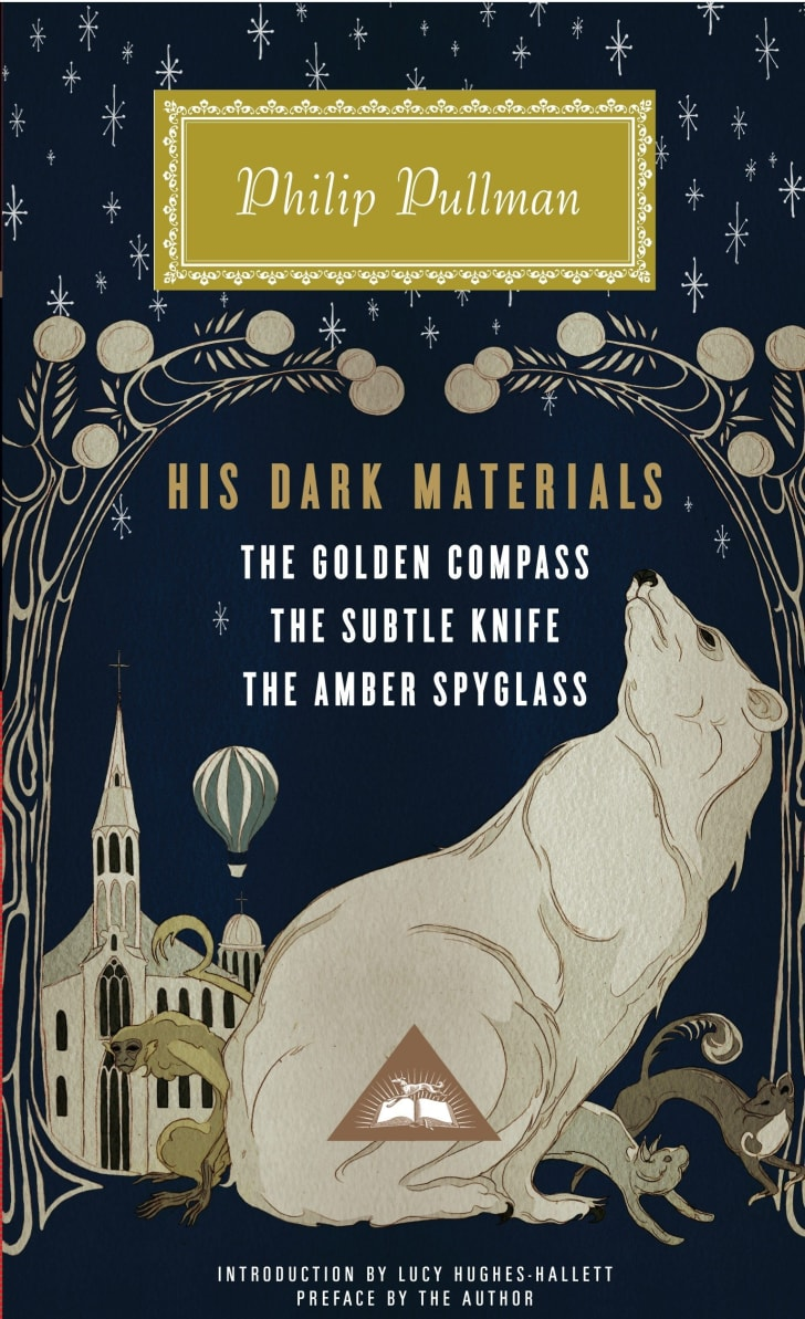 The 'His Dark Materials' book cover.