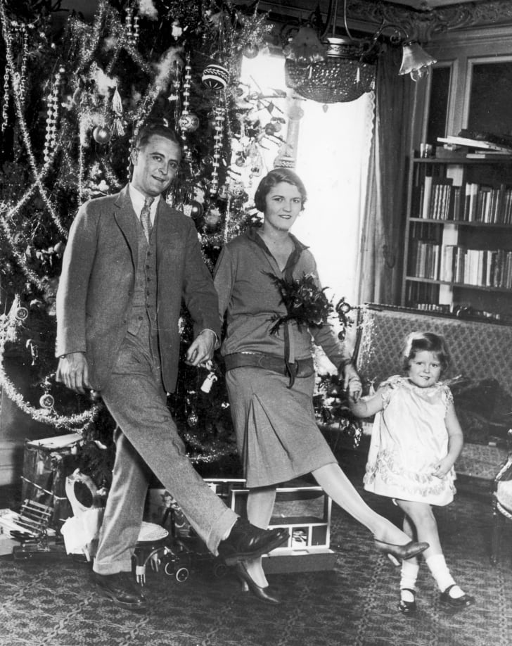 F. Scott Fitzgerald with his wife Zelda Fitzgerald.