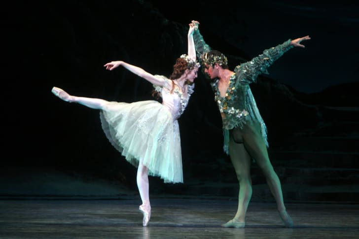 julie kent in ABT's the dream