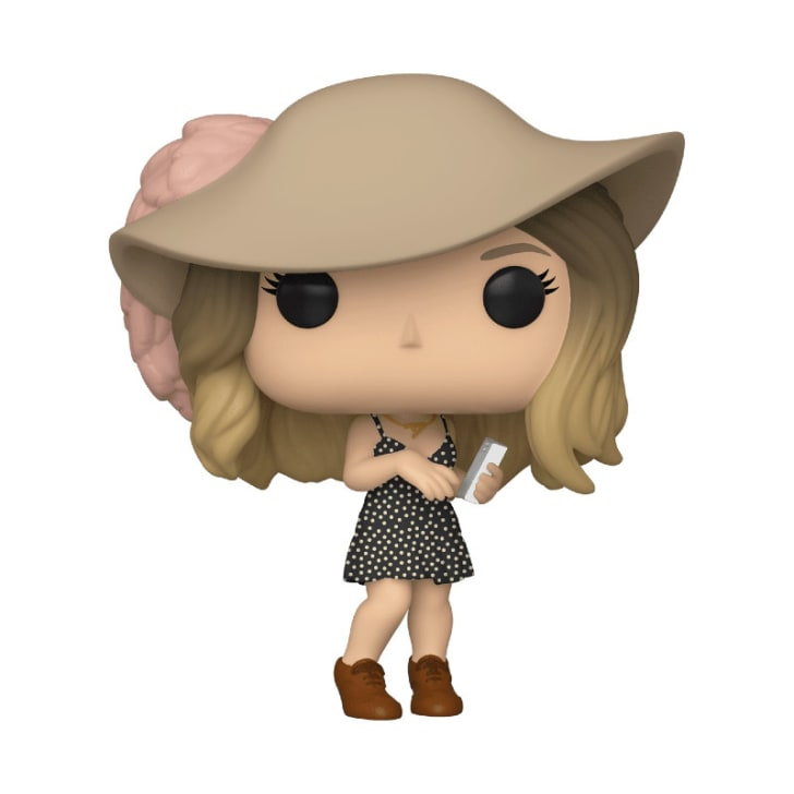 A 'Schitt's Creek' Alexis Rose Funko Pop! figure is pictured