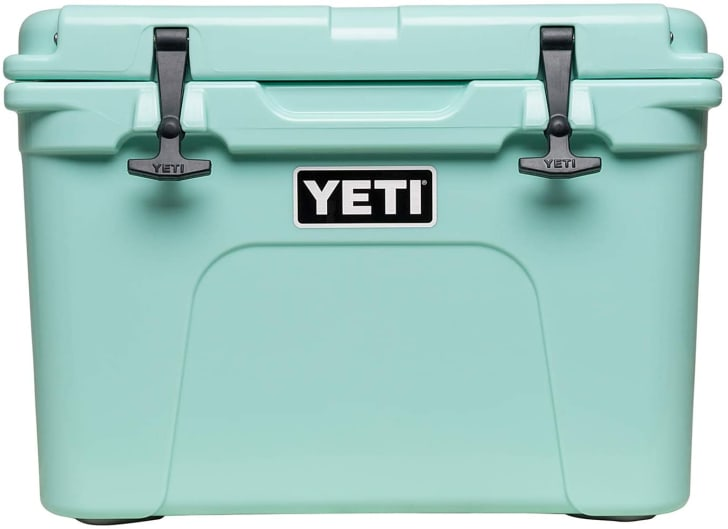 A cooler from Yeti that's available on Amazon.