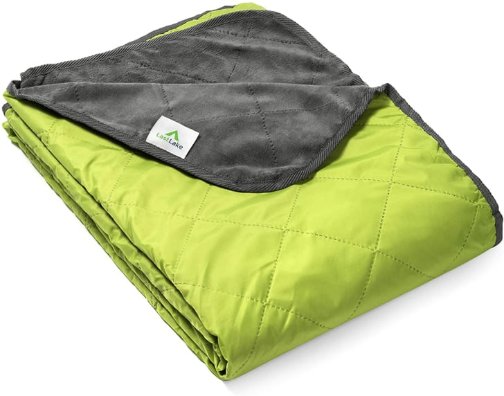 A camping blanket from the brand Last Lake.