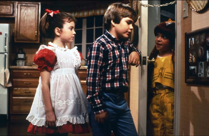 Tiffany Brissette, Emily Schulman, and Jerry Supiran in Small Wonder