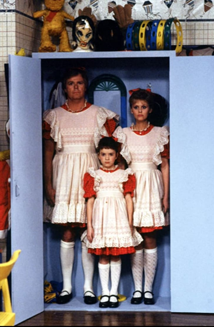 Tiffany Brissette, Richard Christie, and Marla Pennington in Small Wonder (1985)