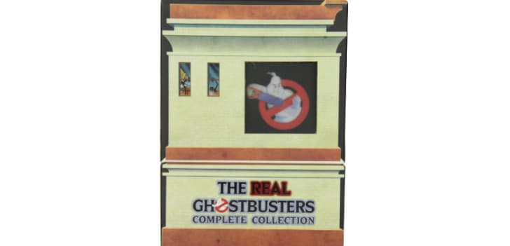 'The Real Ghostbusters: The Complete Series' DVD is pictured