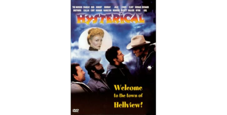 The 'Hysterical' DVD is pictured