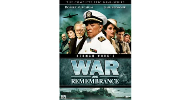 The 'War and Remembrance' DVD is pictured