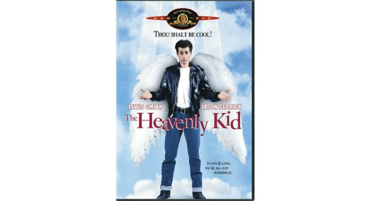 'The Heavenly Kid' DVD is pictured