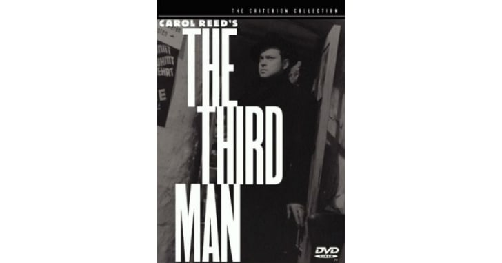 The Criterion Collection edition of 'The Third Man' DVD is pictured
