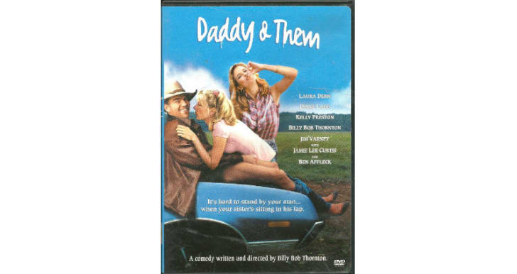 The 'Daddy and Them' DVD is pictured