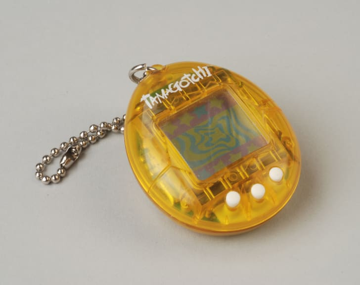 A picture of a tamagotchi toy.