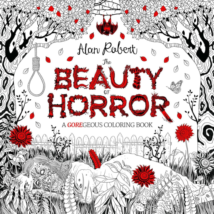 The Beauty of Horror Coloring Book.