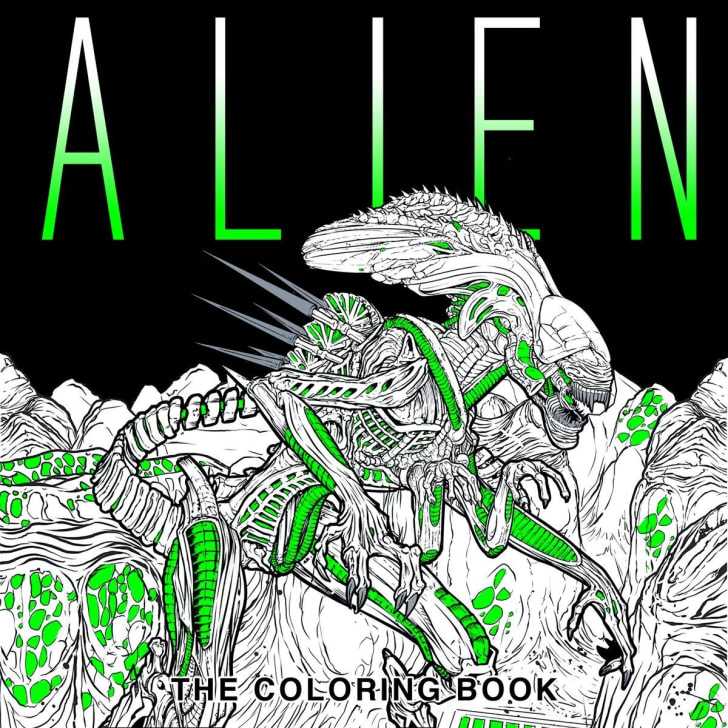 Alien: The Adult Coloring Book.