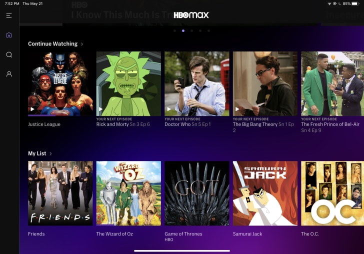 hbo max streaming platform