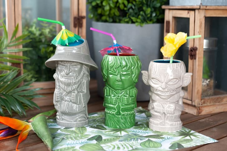 'Lord of The Rings' themed tiki cups.