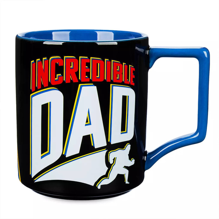 An Incredibles themed mug
