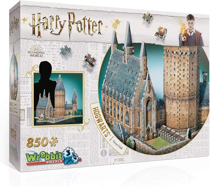 3D Harry Potter puzzle from Amazon.