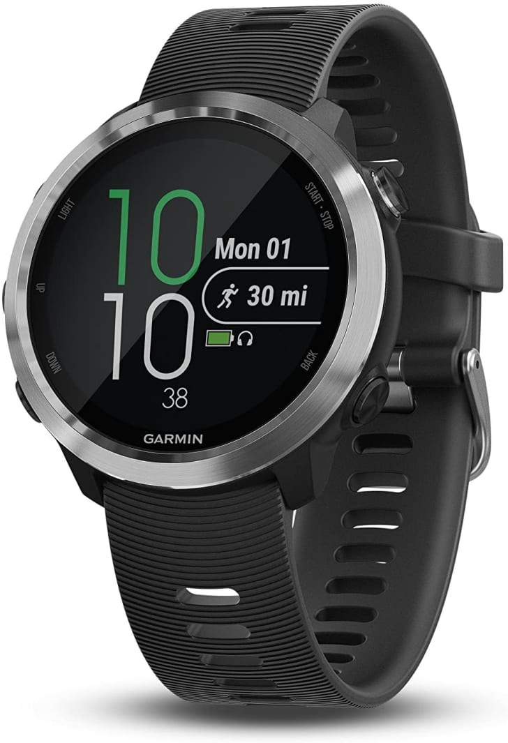 A running watch from Garmin