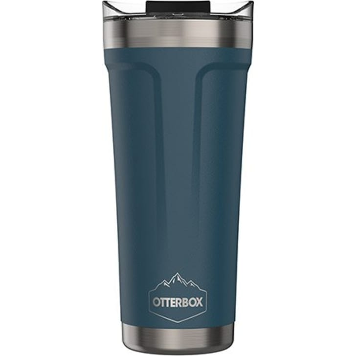 An OtterBox outdoor mug