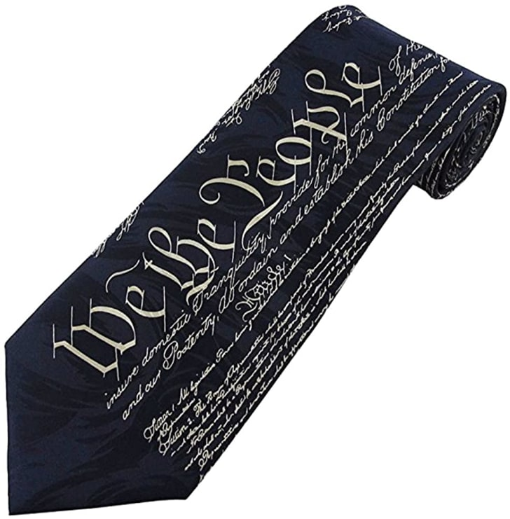 Constitution tie on Amazon.