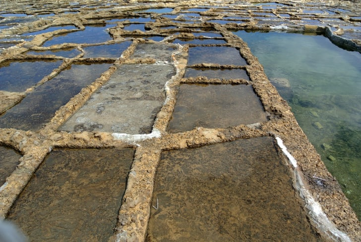 salt pans in malta