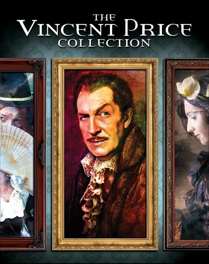'The Vincent Price Collection: Volume 1' Blu-ray is pictured