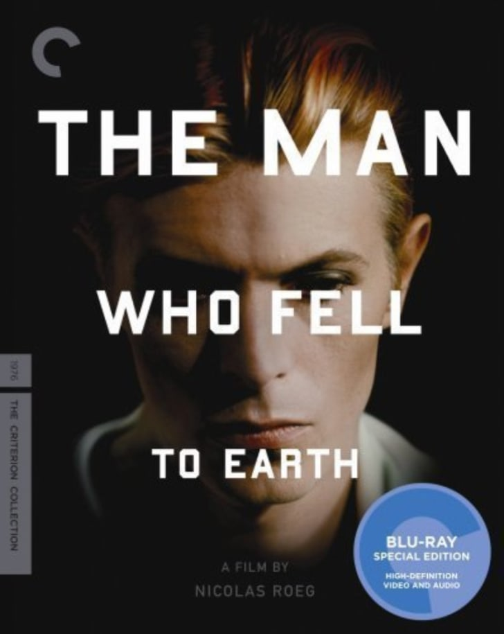 'The Man Who Fell to Earth: Criterion Collection' Blu-ray is pictured