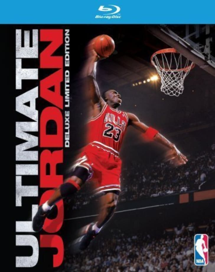 The 'Ultimate Jordan' Blu-ray is pictured